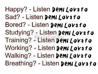 La musique de Demi
