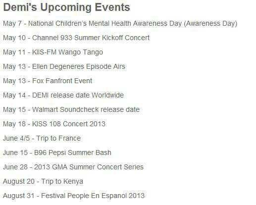Demi viendrai le 4 et 5 juin