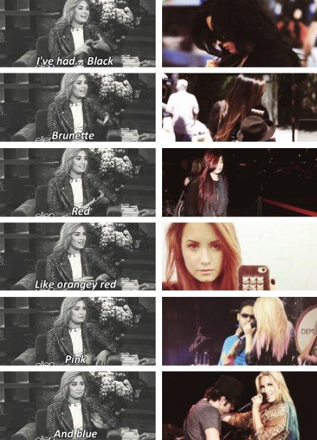 Cheveux de Demi