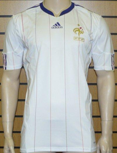 Maillot france world cup 2010 exterieur techfit