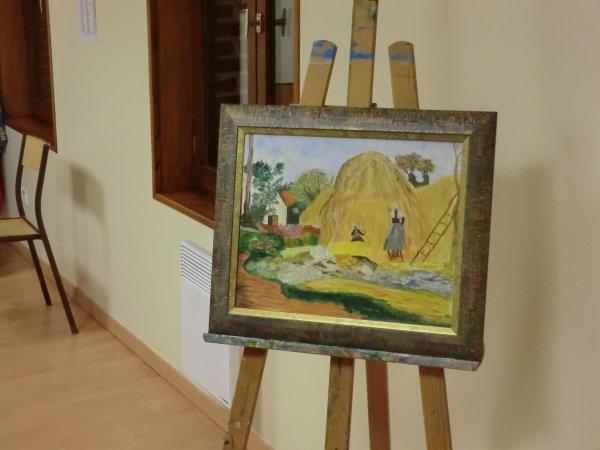 Peintures à la Bibliothèque