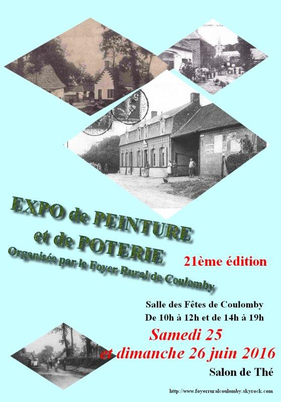 EXPO PEINTURE ET POTERIE