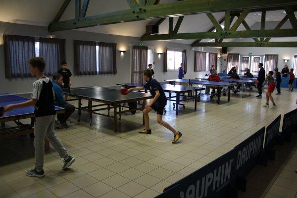 Tennis de Table (Coulomby, Coupelle-Neuve, Preures et Steenbecque) 17 Février 2018 Salle des Fêtes de Coulomby
