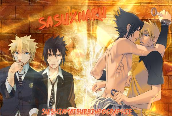Wallpaper SasuXNaru