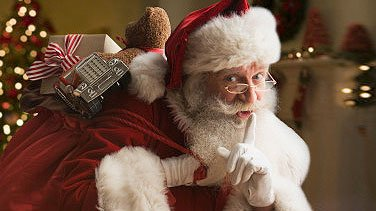 Père Noël arrive...avec plein des cadeaux !