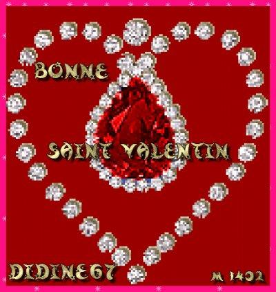 Bonne fête de la Saint-Valentin, les amoureux !