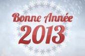 Vive l'année 2013-... !!!