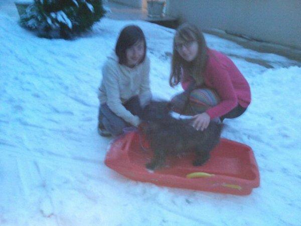 Le 22/01/13 neige et potes=rigolades!