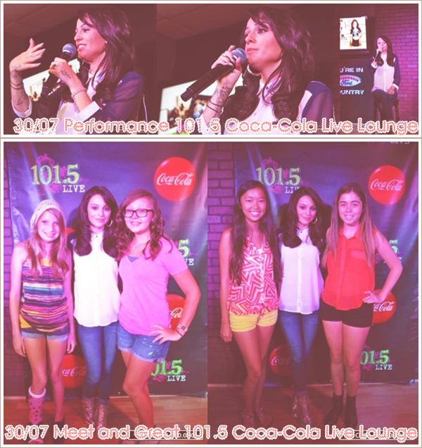 Performance de Cher Lloyd cette semaine avec les Meet and Great.
