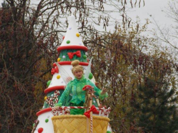 La Fée Clochette ... Parde de Noël ...
