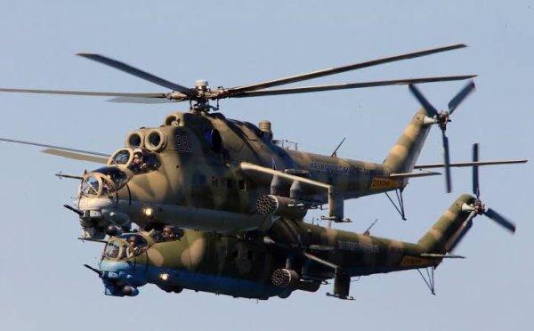 les hélicoptères que la société mil les produit