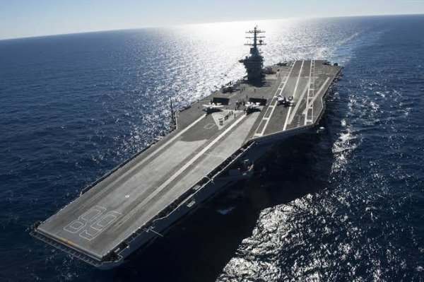 L'USS Gerald R. Ford (CVN-78) est un porte-avions de la marine américaine, navire de tête de la classe Gerald R. Ford qui doit progressivement remplacer les unités de la classe Nimitz. Comme dévoilé le 16 janvier 2007 par communiqué du secrétaire de la Navy, Donald C. Winter, ce bâtiment porte le nom du 38e président des États-Unis, Gerald R. Ford qui a combattu durant la Seconde Guerre mondiale à bord du porte-avions USS Monterey dans le théâtre du Pacifique en terminant sa carrière avec le grade de lieutenant-commander[note 2].