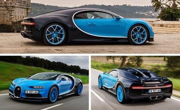 La Bugatti Chiron est une supercar du constructeur automobile français Bugatti, descendante annoncée de la Bugatti Veyron 16.4. Elle tient son nom du pilote automobile monégasque Louis Chiron (1899-1979).