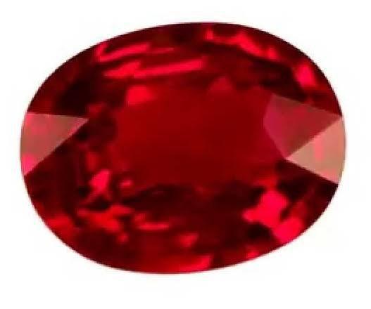 الياقوت حجر كريم أحمر اللون. ويختلف الياقوت من لونه الأحمر إلى اللون الأحمر الفاتح اللون وهو ينتمي إلى معدن الكوروند والذي هو عبارة عن أكسيد الألومنيوم. ينتج اللون الأحمر بشكل أساسي من وجود مادة الكروم