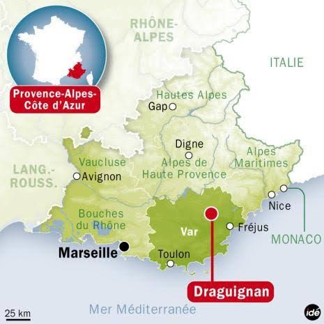 Draguignan est une commune française située dans le département du Var en région Provence-Alpes-Côte d'Azur.