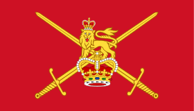 The British Army is the principal land warfare force of the United Kingdom. As of 2017, the British Army comprises just over 80,000 trained regular (full-time) personnel and just over 26,500 trained reserve (part-time) personnel.