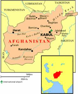 Fin 2001, les talibans ne contrôlaient plus que quelques territoires au sud-est et au nord-est du pays. L'OTAN accepte alors de s'engager sur le théâtre afghan avec la création et l'envoi de la FIAS (ISAF en anglais). Cette force est placée sous le commandement de l'OTAN. Dans les faits, le commandement tourne régulièrement d'un pays à un autre de 2001 à 2006 : Royaume-Uni, Turquie (juin 2002 - janvier 2003), Allemagne/Pays-Bas (février - août 2003), Canada, France, Turquie, Italie et de nouveau Royaume-Uni. Depuis 2007, le commandement a été repris par les États-Unis. La FIAS est mandatée par l'ONU (résolutions 1386, 1413, 1444 et 1510).