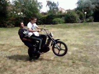 Petite Photo de stunt d'Arthur et moi ;)