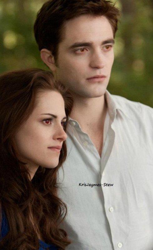 Couverture du magazine Elle + Nouvelles photos de Twilight 4 partie 2.