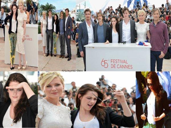 Kristen et Robert à Cannes (2012)