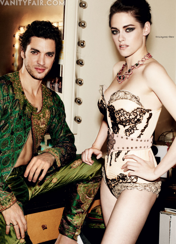 Magazine Vanity Fair Juillet  2012.