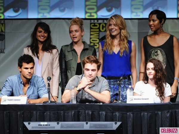 12.07.2012 : Comic Con (Breaking Dawn - Part 2) à San Diego