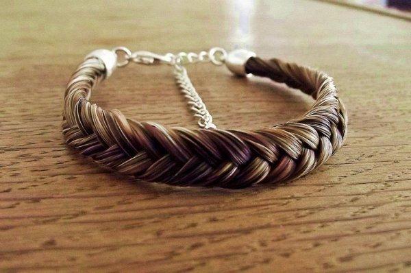Bracelet en crin