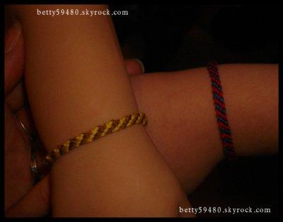 2 bracelet bresiliens