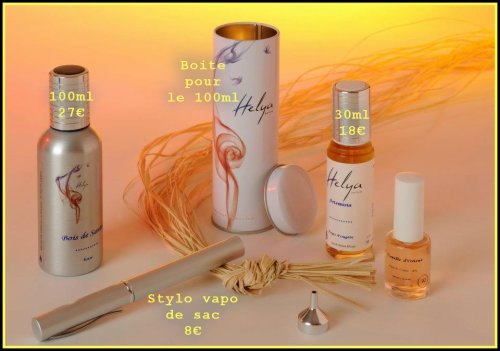 vente de parfum helya fragrance