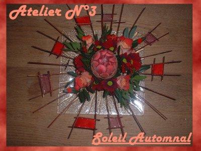 Atelier  n°3 Soleil automnal