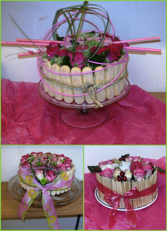 Annee 2009 2010 Atelier N 11 Gateau Floral Neufchhateau La