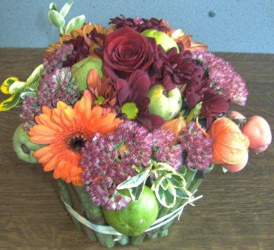 Art floral; polygonomes et couleurs d'automne
