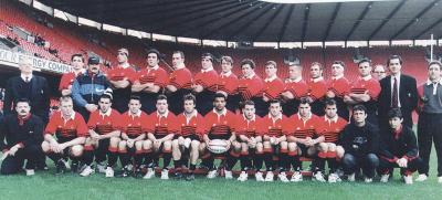 1996 : Natation, Rugby, Ski alpin.