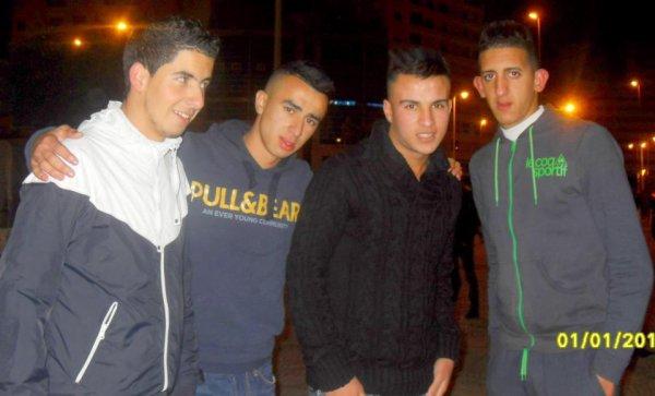Mohamed Tanjawi aVec Mes amis