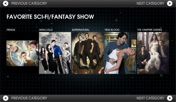 .   Vampire Diaries et Ian Somerhalder nominés au People Choice Award 2011   Votez pour eux ICI .