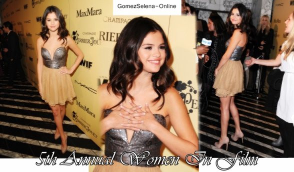Tenue de Clip  + Selena à la 5th Annual Women In Film, Pré-Oscar Party le 24 février  + Quelque nouvelle photo perso' de Sel' que j'aime bien