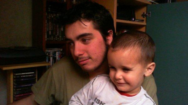 moi et mon neveu adriano