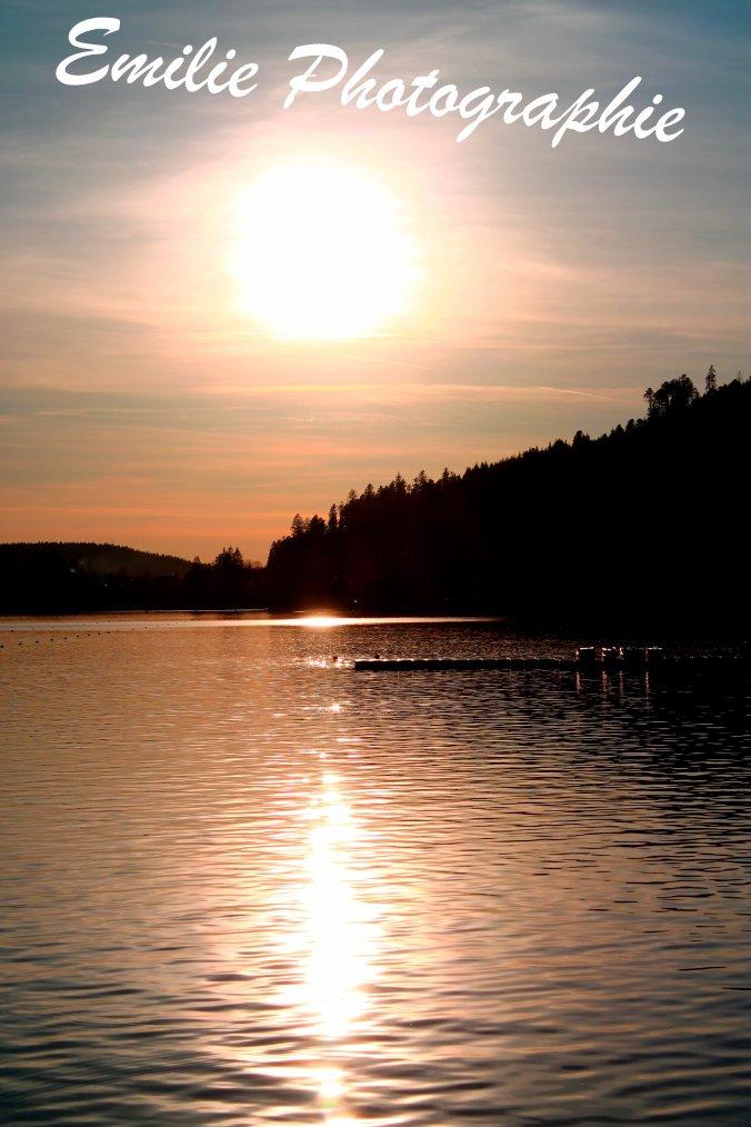 Le lac de Gerardmer