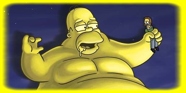 Homer simpson : the blob