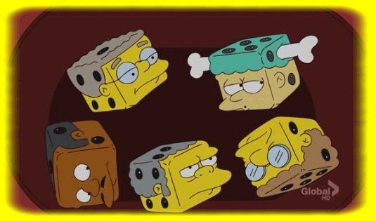 Les Dés Spingfildiens ! =)