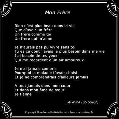Mon Frere Blog De Poeme 040