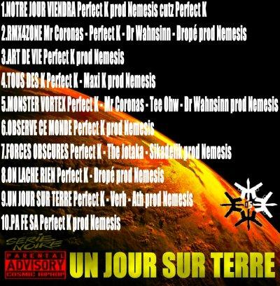 Mix-Tape Perfect K - [Un Jour Sur Terre] 2013