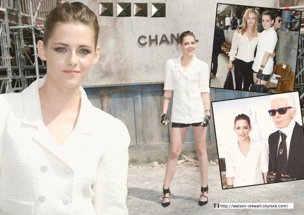 Défilé Haute couture Chanel le 2 juillet à Paris