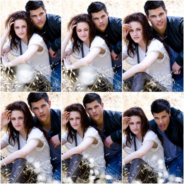 Nouvelles/anciennes photos de Kristen et Taylor pour EW (2009)