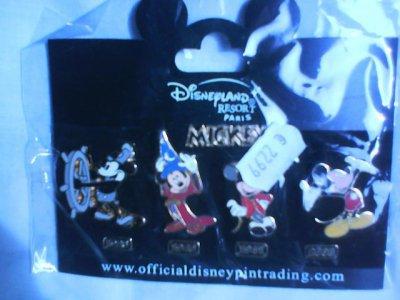Souvenirs Disneyland Paris 14 au 17/09/06