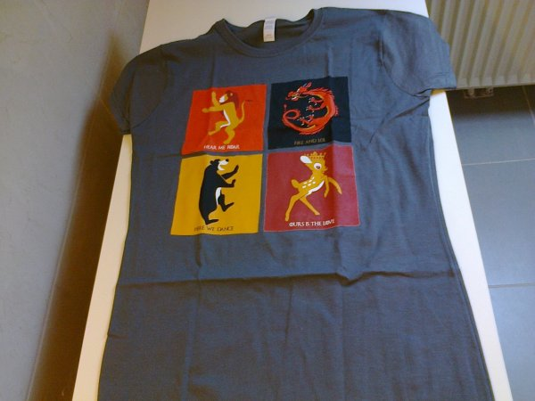 T-shirts Qwertee de Kairi suite 4
