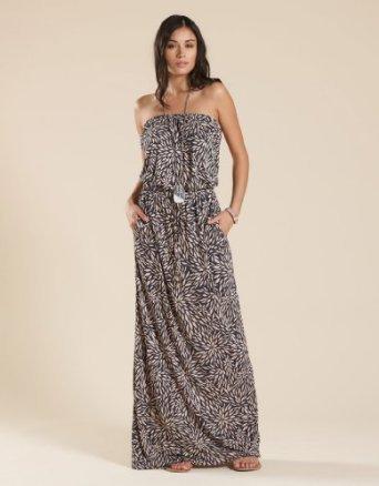 Accessorize Nadine Leaf Maxi Dress