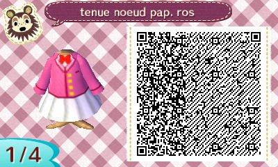 tenue ecoliere veston rose