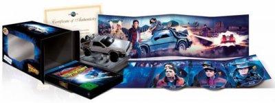 Coffret trilogie Retour vers le futur Edition collector limitée Dolorean