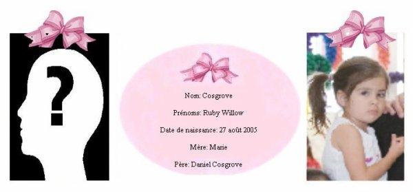 Famille Cosgrove